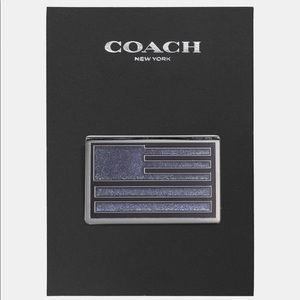Coach American Flag Pin